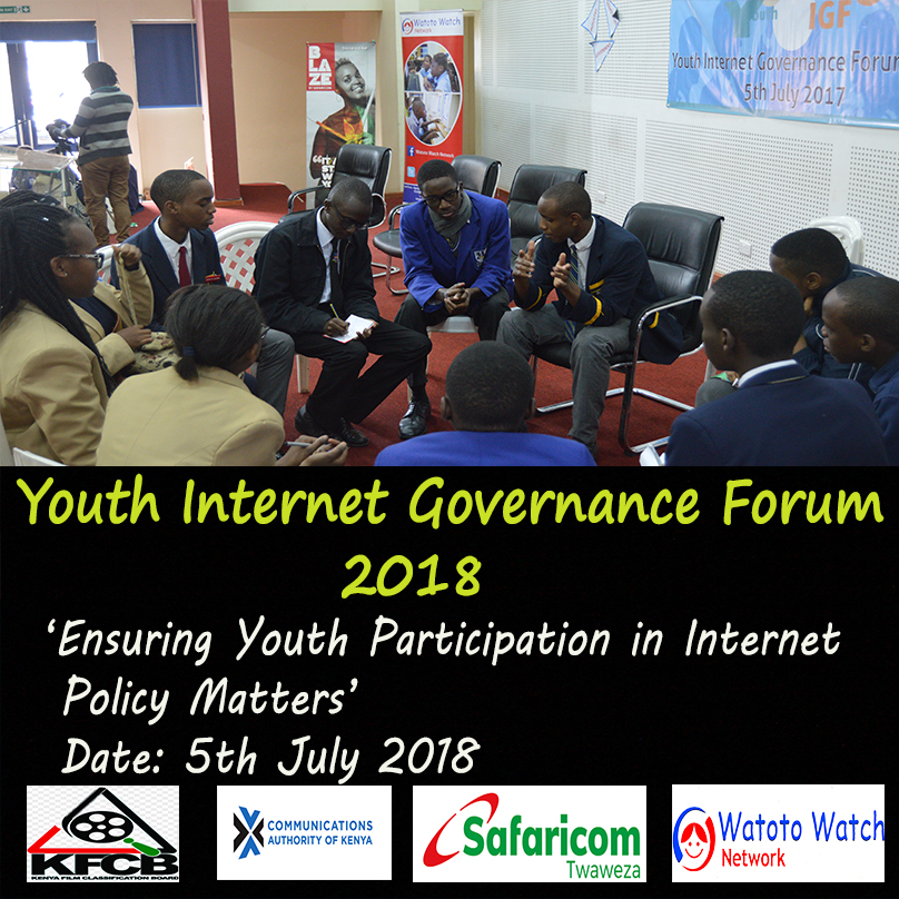 Youth Internet Governance Forum 2018 | Watoto Watch Network